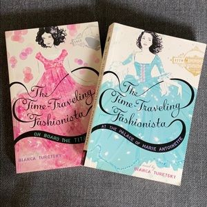 Time traveling Fashionista books